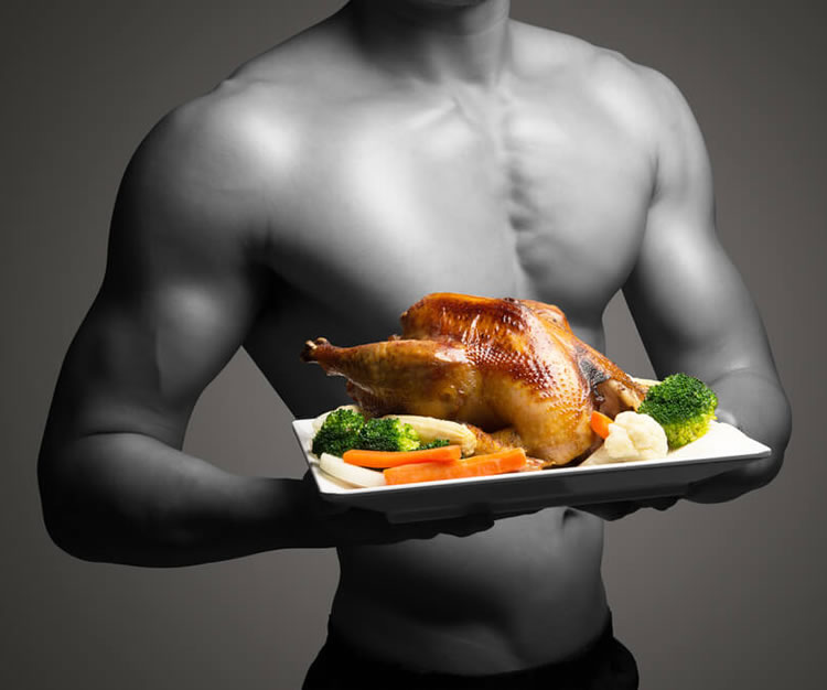 eat muscle fitness food